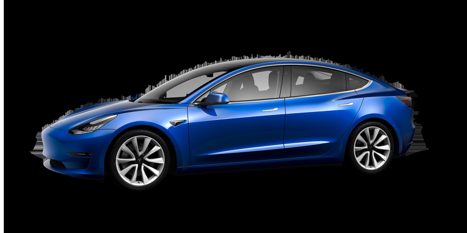 Caractéristiques de la  Tesla Model 3 électrique