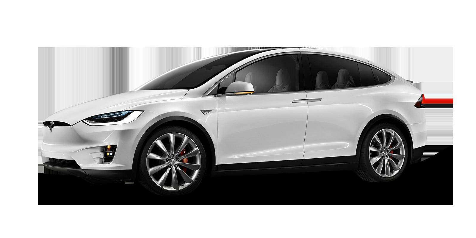 Caractéristiques de la  Tesla Model X électrique